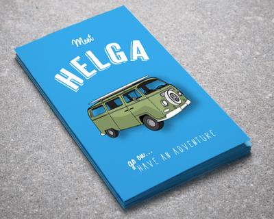 Helga Postcards