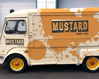 Mustard-H-Van Branded